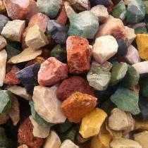 فروش سنگ رنگی پودرسنگ رودخانه ای قلوه ای و شن رنگی